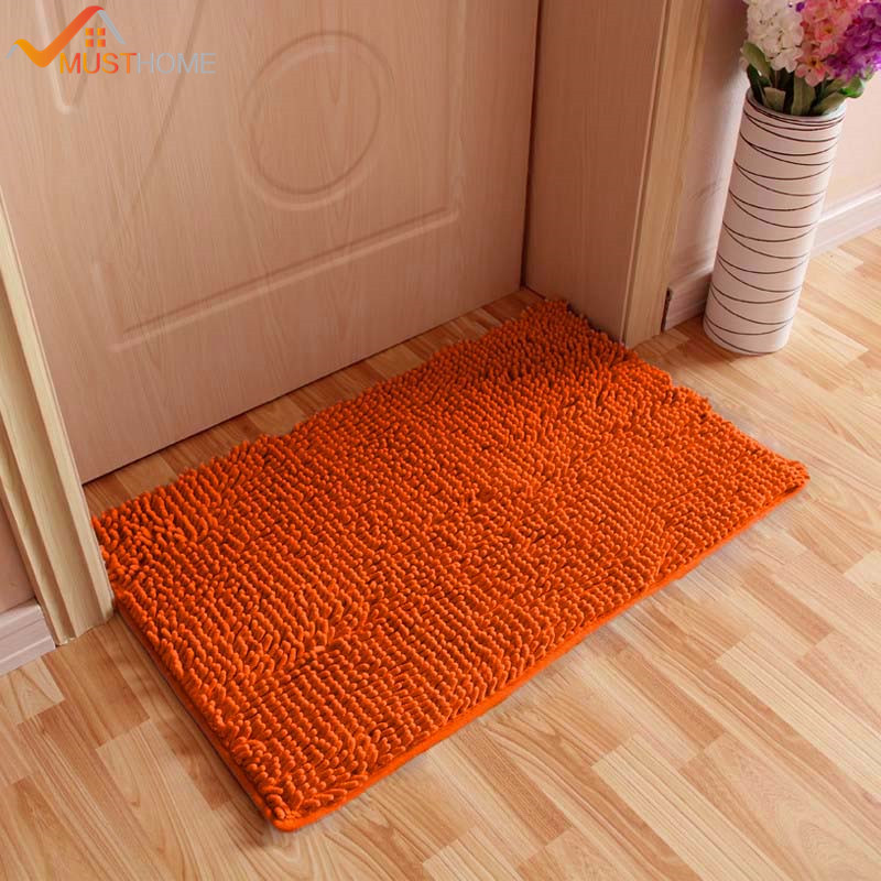 50X80cm/19x31 Bath Mat Bathroom Rug Quickly Absorb Water Keeping Your Bathroom Floors Dry and Clean