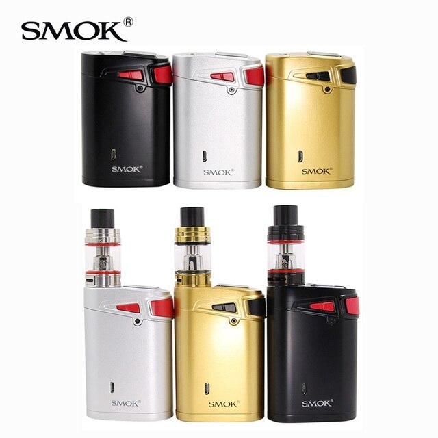 オリジナル Smok マーシャルスターターキット Smok G320 キットで 5 ミリリットル TFV8 ビッグベビータンクマーシャル G320 Mod Smok 電子タバコ 18650 mod