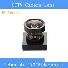 PU`Aimetis CCTV 1.8mm Lens 170degree wide angle M7*0.5 for CCTV Security Mini camera