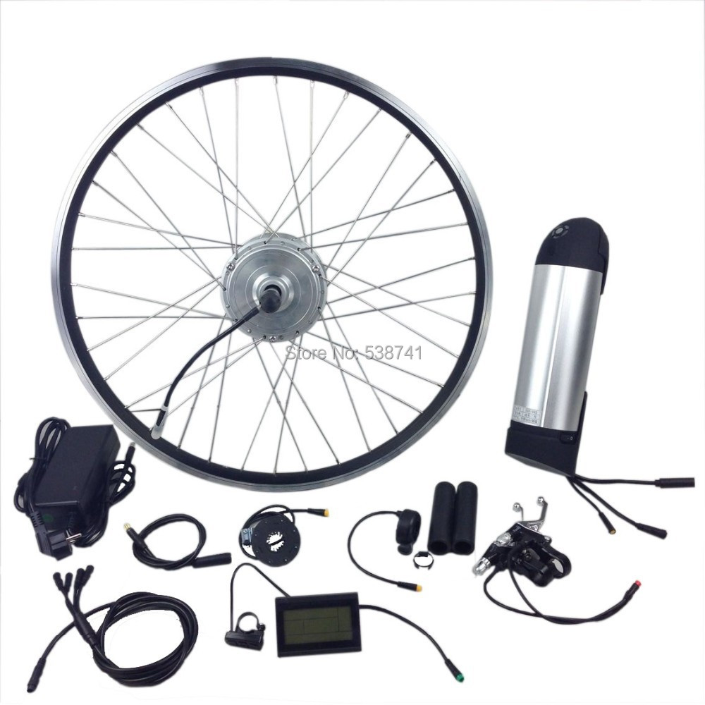 Electric Bicycle Motor Kit With Battery In India: 26 Inch Electric Bicycle Kits With Lithium Battery-in