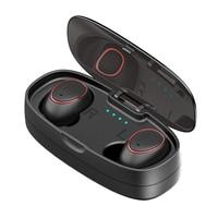HTK18 Plus Mini Bluetooth Headset Sports Wireless Headphones 3D Stereo Handsfree Bluetooth Earphone With Power Bank