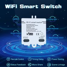 1 pcs Wifi Smart Switch Wireless APP Remote Control Smart Home Module AC100-240V 5A Switch Accessories