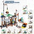HOT movie Pirates of the Caribbean base 12in1 mini sences building block Lodumani skeleton bricks com.legoeinglys.toys