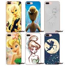 Conto De Fadas Tinkerbell Tinker Bell Soft Case Para Samsung Galaxy Note 3 4 5 Grand Núcleo Prime S3 S4 S5 MINI S6 S7 borda S8 S9 Plus(China)