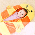 Baby sleeping bags, summer, fall, and velvet upset baby was sleeping bag spring and summer air conditioning is plush cartoon