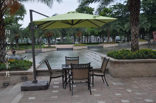 98d3001f53 US $640.0  Top outdoor umbrellas large garden umbrella Rome balcony turn  360 coffee outlets-in Patio Umbrellas & Bases from Furniture on ...