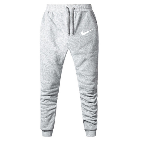 2019 New Men Joggers Brand Male Trousers Casual Pants Sweatpants Jogger Grey Casual Elastic Cotton GYMS Fitness Workout Dar XXXL Multan