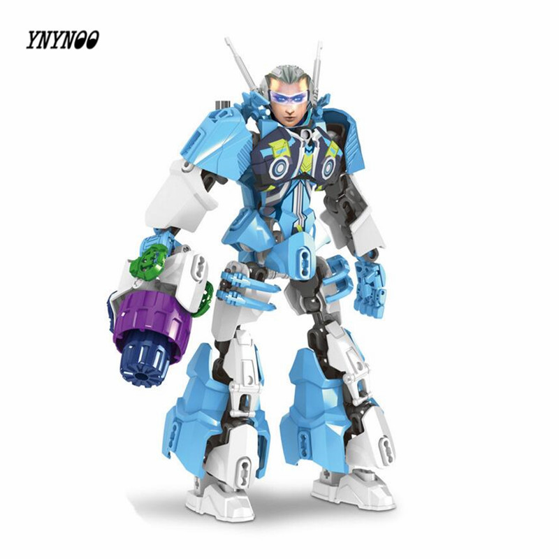 YNYNOO Marvel Avengers Heroes Bionicle Building Blocks Romance of the Three Kingdoms Heroes DIY Assemble Brick Kid Toys Lepin a knight of the seven kingdoms