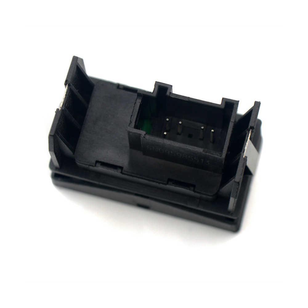 Interruptor De Ajuste Espejo Eléctrico Cromo Para VW Polo 6R 6RD959565B Nuevo *