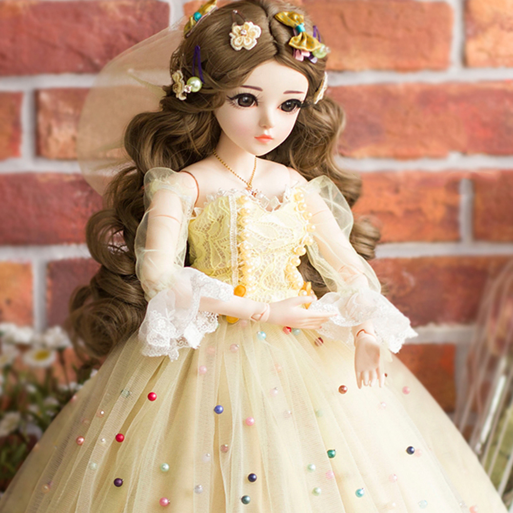 1 3 Bebe Reborn Doll 60CM Mulberry Dolls 18 Joints Doll With Elegant Maxi  Dress 4272808e9a37