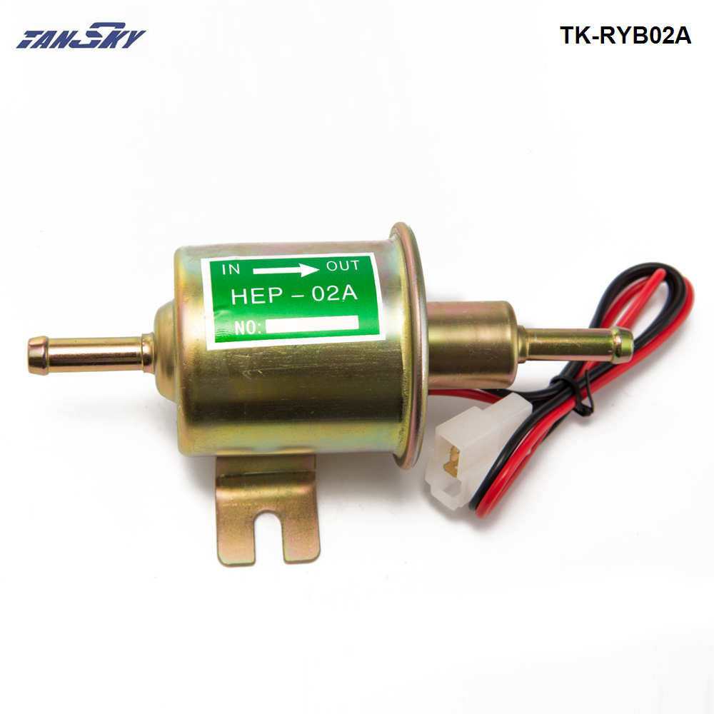 4-7 PSI 12V Universal Electric Fuel Pump Low Pressure Gas Diesel Inline HEP-02A