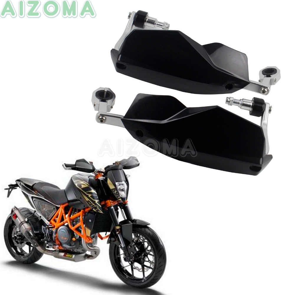 Supermoto dual sports motorcycle black handguards universal 22 28mm brush guards for ktm duke 125