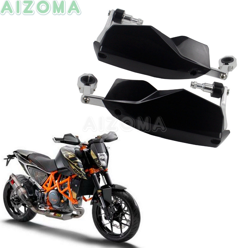 Supermoto dual sports motorcycle black handguards universal 22 28mm brush guards for ktm duke 125
