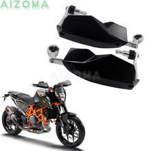 Supermoto Dual Sports Motorcycle Black Handguards Universal 22/28mm Brush Guards For KTM Duke 125/200/250/390/690/790/1290