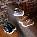 2016 Otoño niños niñas Martin botas niños botas de Goma De moda niños sneakers Nuevos muchachos Perro Pie zapatos chaussure enfant