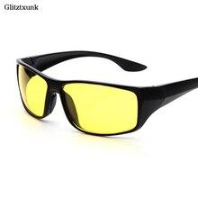 Glitztxunk New Sports Sunglasses Women Men Night Vision Glasses Night Driving