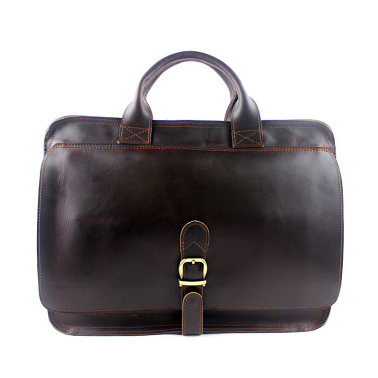 2017 Man Vintage Crossbody Bag Genuine Leather Shoulder Bags Brand Men Messenger Laptop Men's Leather Handbag Tote Briefcase