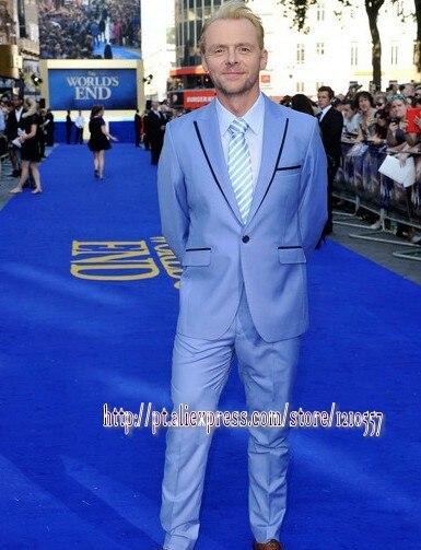 Aliexpress.com : Buy Wholesale ceremony party powder blue suit men ...