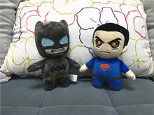 a3120419ae3f 20cm The Avengers Batman Superman Plush Super Heroes Batman Superman stuffed  Model Toys Doll(China