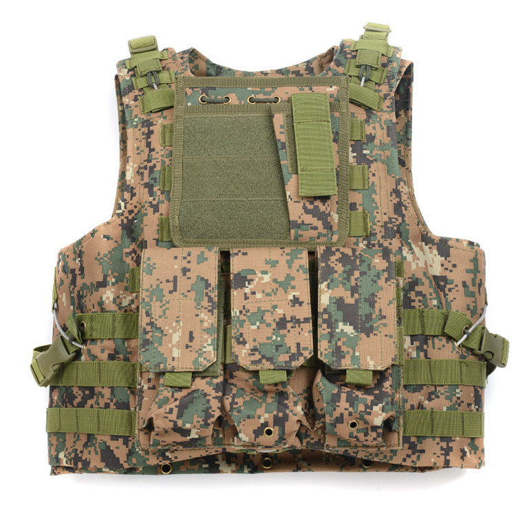 902e7d6a05 Colete tático militar 800D Oxford Multi cores Airsoft Paintball Vest  exército dos eua Miltary uniformes de segurança