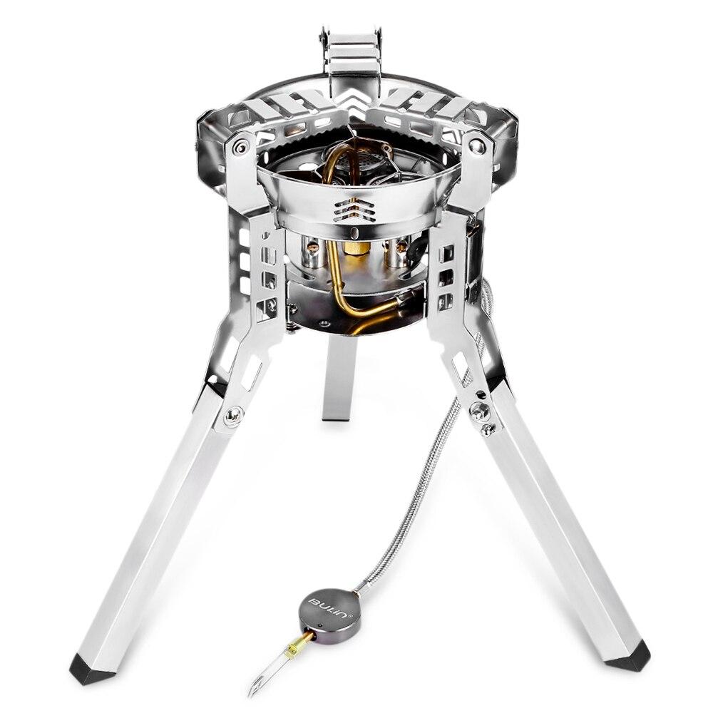 Bulin BL100 B16 наружные сплит газовые горелки плита ветрозащитное Походное оборудование походная печь для пикника складной портативный барбекю снаряжение - 2