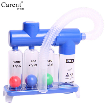 New Arrivals Breathing trainer vital capacity exercise three ball instrument lung function breathing respiratory exerciser