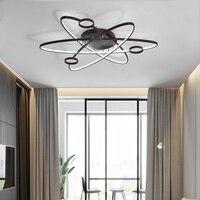 LICAN Modern Led Ceiling Lights For Living Room Study Room Bedroom Home Dec lamparas de techo Modern Led Dimming Ceiling Lamp
