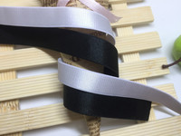 20meters 1.5cm Width Black/White/Off White Color Elastic Underwear Accessories Shoulder Tape