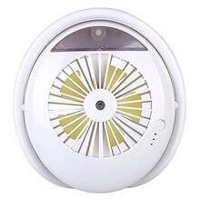 Creative Cartoon Fan Mini Spray Fan Home Desktop Charging Small Fan Mist Spray Humidification Fan