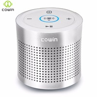 Cowin Thunder Metal Wireless Bluetooth Speaker Subwoofer Stereo Portable Speaker With Mic AUX 12W Touch Amplifier