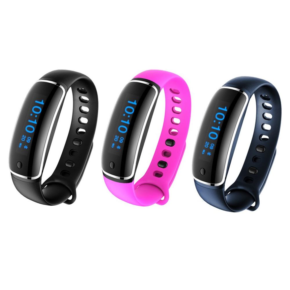 LYNWO M4 Smart Band Blood Pressure Dynamic Heart Rate Monitor Wristband Waterproof Pedometer Bracelet For Xiaomi iOS Android