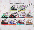 d34df31df436 NEW 1Lot   100Pc rubber novelty Lebron James shoes key chain LeBron 1-10  fashion shoes couple keychainBasketball fans souvenirs USD 68.00 lot