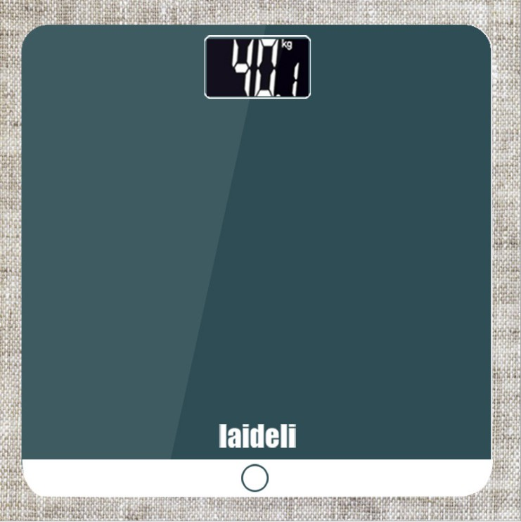 New Smart Electronic Floor Scales Digital Bathroom Weight Body Scale Household Weight Measurement Weighting Weegschaal Mini