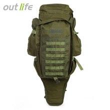 Outlife 60L Militaire Extérieure Militaire Sac À Dos Pack 1000D Nylon Sac À Dos Pour La Chasse Tir Camping Trekking Randonnée 5 Couleurs