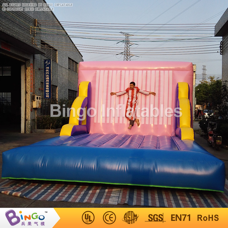Free express Inflatable Sticky Wall inflatable font b bouncer b font commercial bounce houses with blower