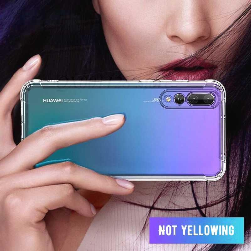 Antiurto Trasparente di Caso Per Huawei Mate 20 Lite 20 X Compagno 10 Pro P20 Nova 3i 3 Copertura Per Honor 8X Max 8C Nota 10 9i 9 Y9 2019 6C