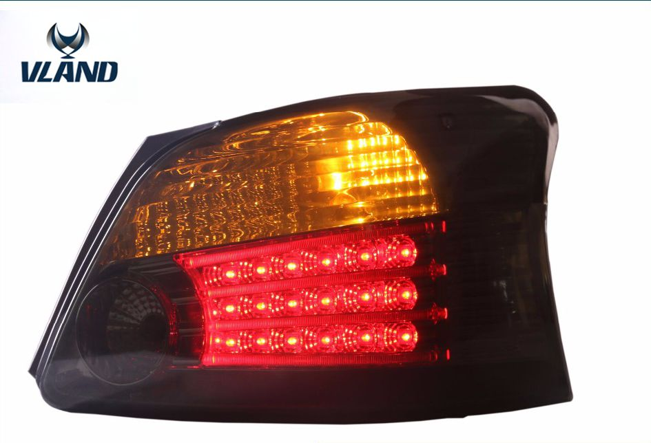free shipping vland VIOS 2008 2013 LED tail lamp suto modified factory wholesale rear light high quality YZ