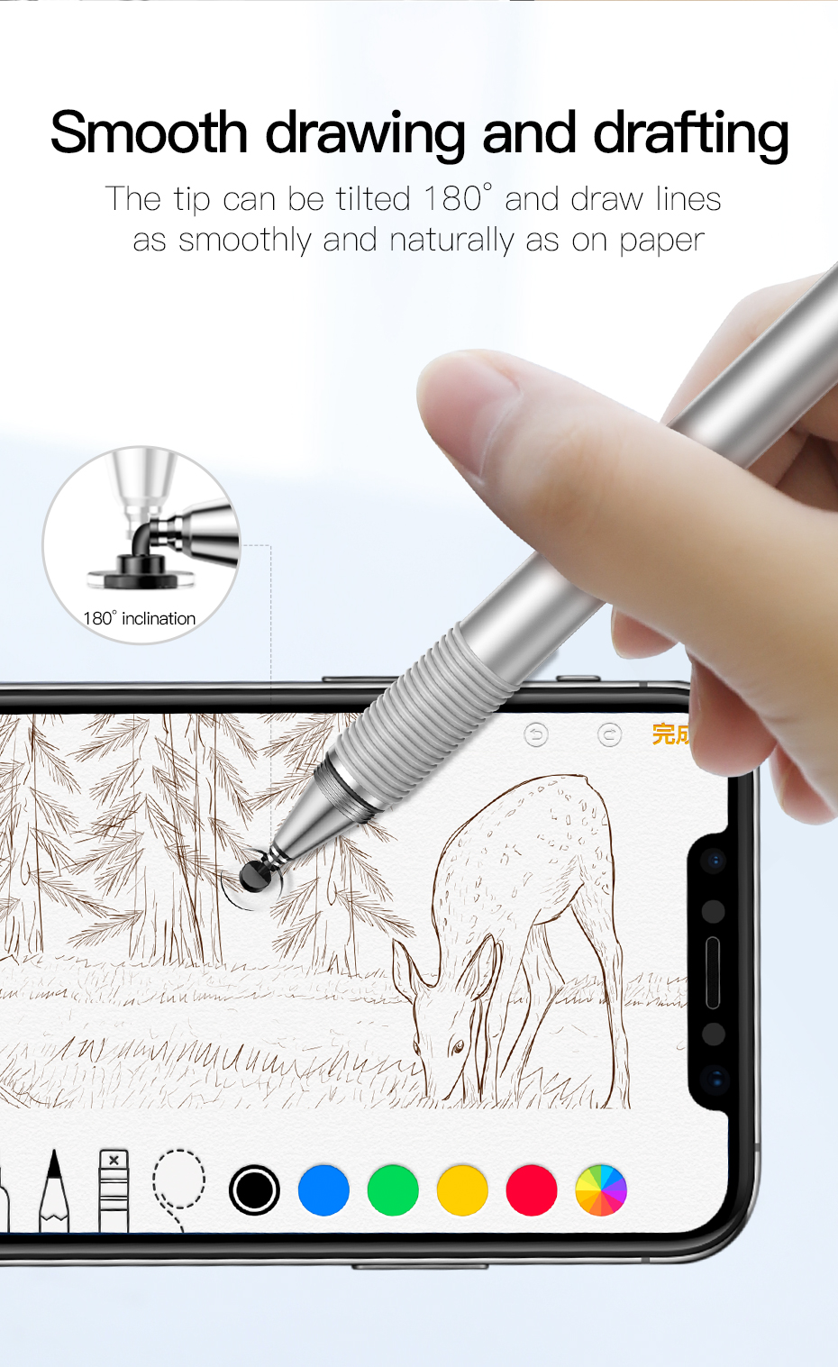 Baseus Capacitive Stylus Pen 4