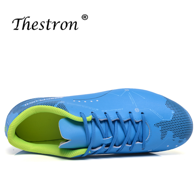 Best 2019 Soccer Shoes For Couple Latest Soccer Cleats Outdoor Long Spike Mens Sport Shoes Brand Training Game Football Sneakers