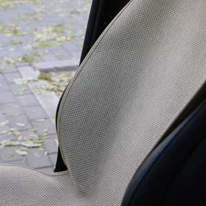 Image 3 - 1 חתיכה רכב כרית מושב מחצלת יכול מכונה לשטוף/מלאכותי פשתן אחת מכסה Fit ביותר רכב משאית suv או ואן