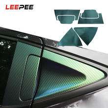 LEEPEE Car Sticker Anti scratch Door Handle Cup Bowl Protective Cover Film for Honda xrv vezel Auto Accessories Car styling