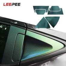LEEPEE autocollant de voiture anti rayures poignée de porte tasse bol couverture de protection Film pour Honda xrv vezel Auto accessoires voiture style