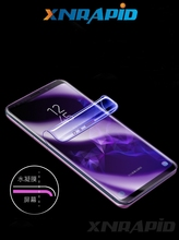 Mobile phone  protective film for iPhone 6 7 8 Plus 6S XR Xs Max full screen covering hydrogel (without glass)