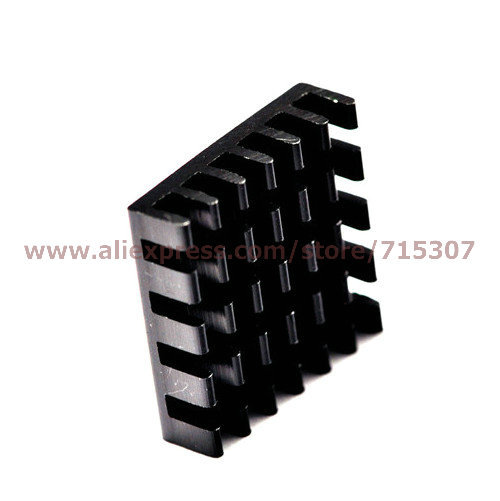 PHISCALE 10pcs 18.5*18.5*5 / 18.5x18.5x5mm heat sink used for mainboard, chips, graphics card