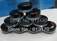 3g Cream Jar Cosmetic Container Plastic Bottle Sample Jar Cosmetic Packaging Free Shipping