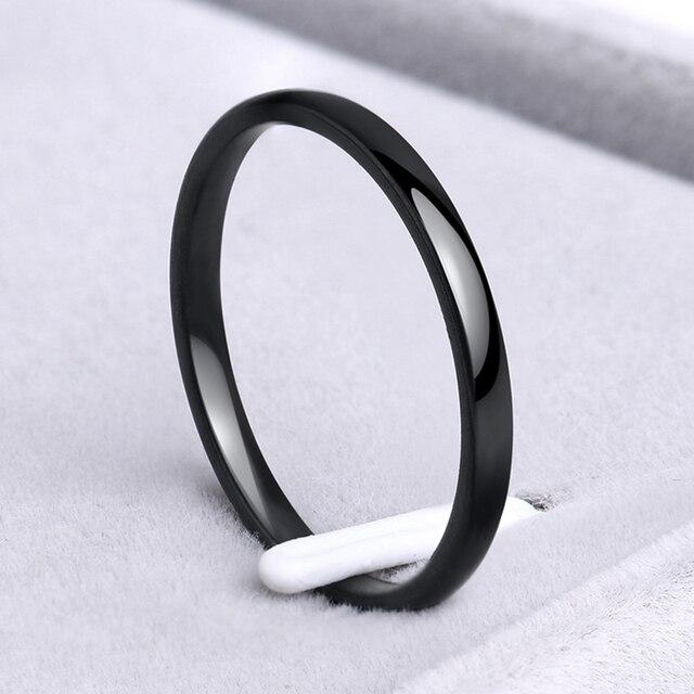Stainless Steel Smooth/Simple Rings  3