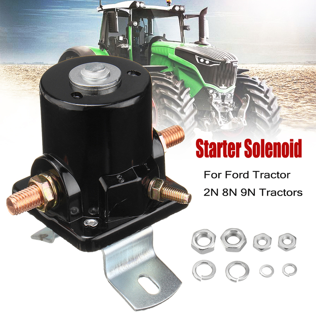 9n Ford Tractor >> 8n11450 12v 3 Post 12 Volt Starter Solenoid For Ford Tractor 2n 8n