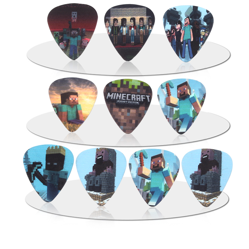 SOACH 50pcs/lot 0.46/0.71/1.0mm Acoustic Guitar Picks Strings Instrumento Guitar Accessories/Bass Guitarra Paddle/ukulele Parts