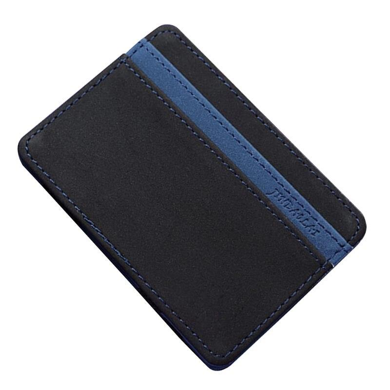Hot Fashion JINBAOLAI Slim Male Magic Wallet Scrub Pu Leather Purse High Quality Magic Wallet Masculina Porte Change Bag