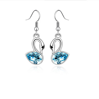 Classical Ambiguous Swans Earrings 1